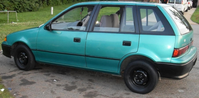 This isn't a photo of that car, but mine looked just like this. I miss that mpg now :(